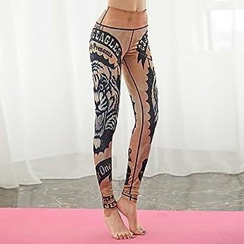Jialele Yoga Pants Yoga Leggings Print Yoga Pants Yoga Pant_repair Height Pop Video Thin Stamp, The Tiger Series L 4