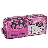 Trousse Hello Kitty qualité supérieure avec 3 compartiments