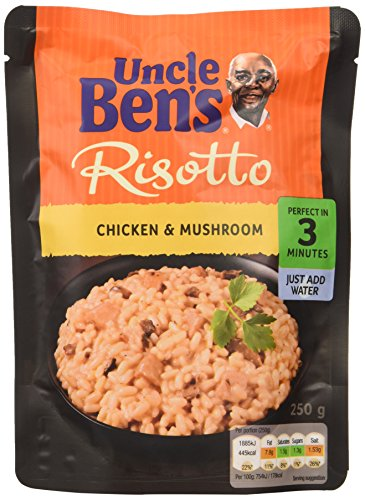 Uncle Ben's Express Chicken and Mushroom Risotto 250 g (Pack of 6)