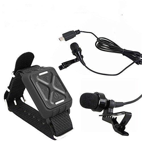 Preisvergleich Produktbild Boblov Zubehör und Teile Für Gitup Git2 Git1 Sport-Kamera mit Peking-Oper Schlüsselanhänger (Controller Add Microphone)