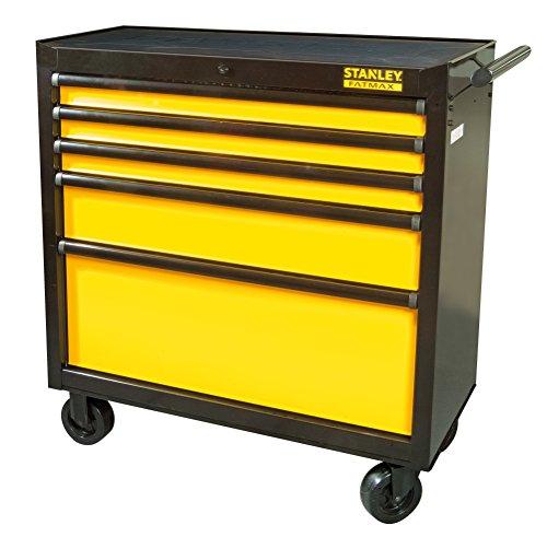 Stanley FatMax Werkstattwagen/Werkzeugwagen, Transmodul System (mit 5 Schubladen,...