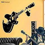 Guitar Wall Sticker Medium Size