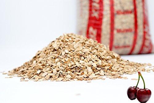 3-15kg Räucherchips Kirsche Barbeque BBQ Räucherholz Holzkohle Kugelgrill Smoker (5)