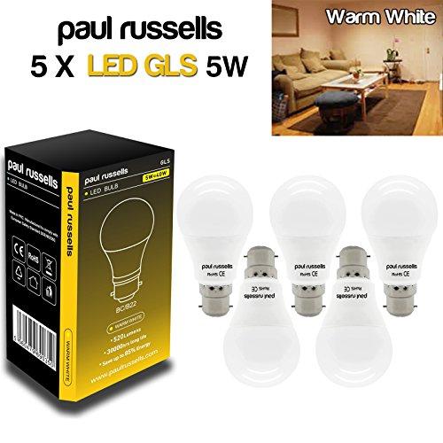 paul-russells-bc-5w-led-gls-ww-5pack-5w-gls-lampadina-led-b22bc-baionetta-paul-russells-molto-lumino
