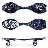 Spokey Waveboard Rollbrett Skateboard Streetboard bis 100 kg ABEC 7 hohe QUALITÄT Streetsurfing DNX -