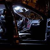 2x SMD LED luces de lectura de la lámpara adecuada para Smart Fortwo 450 451 Xenon blanco del bote C5W 42