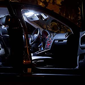 2 x Lampe lED sMD xenon blanc erreur can pour jeep renegade