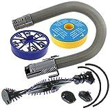 SPARES2GO Clutch Brushroll Roller Bar + Filters + Main Hose For DYSON DC07 Vacuum...