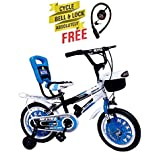 Speed Brid 14-T NEXTRA With Back Carrier Kid Bicycle Baby Cycle For Boys & Girls - Age Groupe 3-6 Years (Sky Blue)