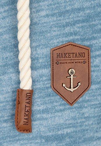 Naketano Male Zipped Jacket Der Gedudelte Big Boobies Melange