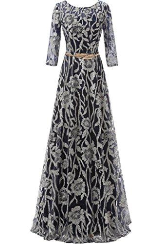 ivyd ressing moderne femme dentelle forme de cœur HI-LO tuell rueckenfrei Party robe Prom Lave-vaisselle robe robe du soir Schwarz