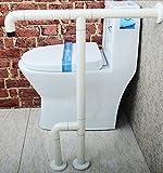 badarmlehne Barrierefreies Nylon Handlauf Ältere Handläufe für Behinderte Badezimmer Toilette Badbecken Armlehne ( Farbe : Weiß )
