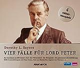 Vier Fälle für Lord Peter (Das Spukhaus in Merriman's End, Der Pfirsichdieb, Die Weinprobe, Die geheimnisvolle Entführung) - 4 CDs mit 205 Min.