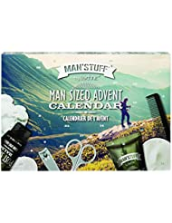 Man 'stuff Advent Mega Calendrier de toilette Lot de bain