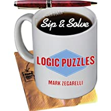 Sip & Solve??: Logic Puzzles (Sip & Solve?? Series) by Mark Zegarelli (2005-10-01)