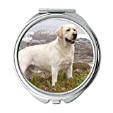 Specchio, Specchio da viaggio, Bulldog francese cane hd, specchio tascabile, 1 ingrandimento X 2X