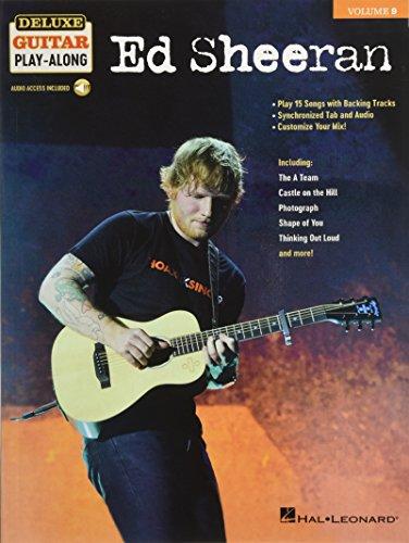 Ed Sheeran: Deluxe Guitar Play-Along Volume 9