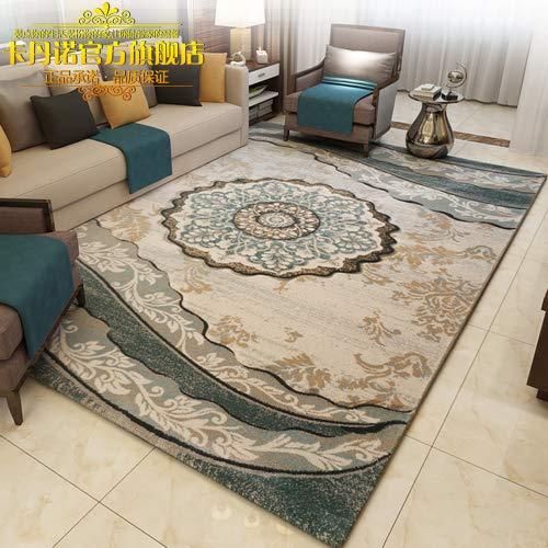 GRENSS Dicke Nordic minimalistischen modernen europäischen Land American Chinesisch Vereinfacht Kosmetiksalon Kaffee pad Schlafzimmer Arbeitszimmer Teppich, 80 cm * 120 cm, KDN-717