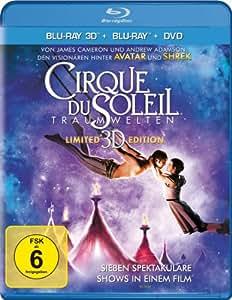 Cirque Du Soleil - Traumwelten (+ BR) (+ DVD) [3D Blu-ray]