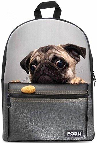 Backpack Bags,FOR U DESIGNS Casual Daypacks Cute Fashion Best School Backpack Rucksack Back Pack Fits 15.6 inch Laptop