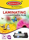 #3: Bambalio Professional Thermal Laminating Pouch 310 X 450 mm (A3 Size) - 125 Microns /100 Sheets LAM-1000