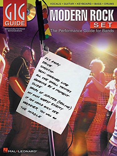 Gig Guide: Modern Rock Set (Gig Guide Book & CD)