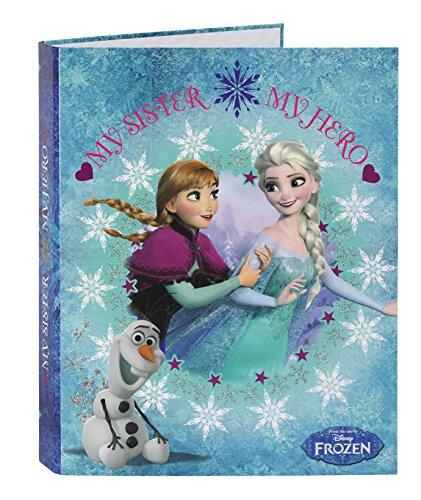 Disney Frozen - Carpeta de cartón de 4 Anillas (SAFTA 511538067)