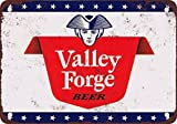 metal Signs Valley Forge Bier Vintage Look Reproduktion Metall blechschild 30,5x 45,7cm 2