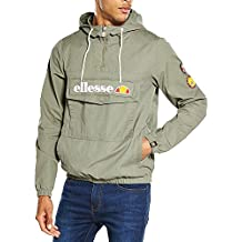 Ellesse Monte Badge Jacket Dusty Olive - M