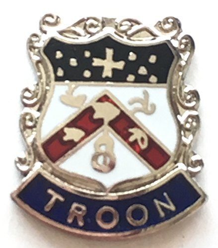 Troon Emaille Revers Stift - Revers-stifte