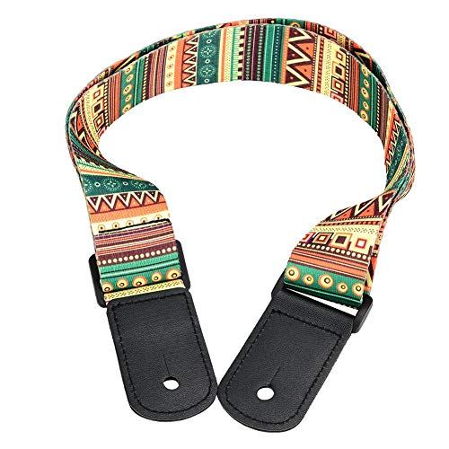 RiToEasysports Ukulele Strap, Regolabile Ukulele 4 Corde Hawaii Chitarra Tracolla Tracolla Accessorio Stile Hawaiano Portatile