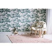 Lorena Canals - Alfombra Hippy Stars - 120x170 cm, Rosa