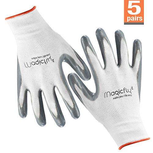 garden-gloves-women-5-pairs-magicfly-machine-washable-premium-protective-gloves-flex-nitrile-coated-