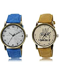ACNOS Most Desirable Attractive Latest Analog Watches Combo For Handsome-Good Looking Men Pack Of - 2 LR28LR30