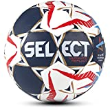 Select Ultimate Replica CL Handball, Blau/Weiß/Rot, 3