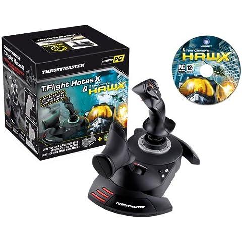 Thrustmaster T.Flight Hotas X + Tom Clancy's Hawx™ PC - Volante/mando (Palanca de mando, Alámbrico,