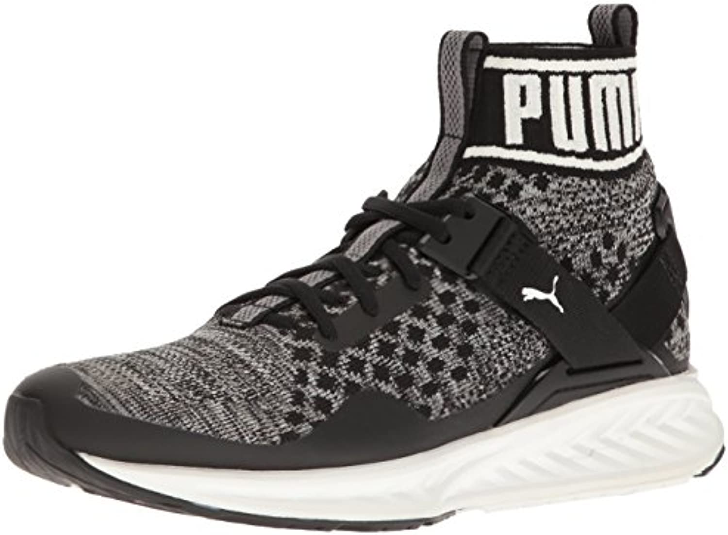 Zapatillas de deporte Ignite Evoknit, Puma Black / Quiet Shade / Puma White, 13 M US