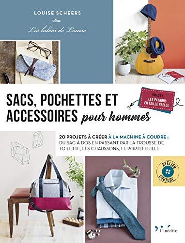 Sacs, pochettes et accessoires pour homme par  Louise Scheers