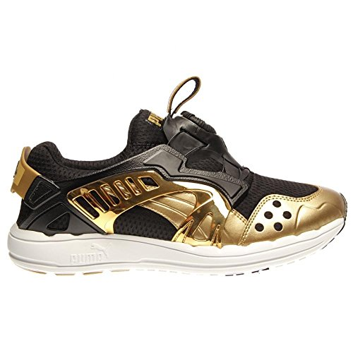 Puma Future Disc Lite Opulance Chaussures de course Taille Black-Team Gold-White