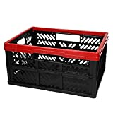Keeeper OKT Klappbox 32L 47,5x34,5x23cm Box Transportbox Transportkiste Kiste Einkaufsbox rot