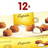 Cupido Chocolat Cacao Creme 12 x 175g Packung (Trüffelpraline mit cremiger Füllung und mit Kakao umhüllt)
