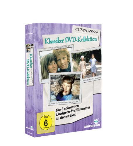 Astrid Lindgren Klassiker-Kollektion [3 DVDs]: Alle Infos bei Amazon