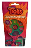 Trolls Customising Stickers. Contains 6 sheets of reusable vinyl Trolls themed stickers. Stick to your school books or decorate letters & cards. Have Hours Of Fun With These Stickers.