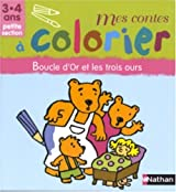 Boucle d'Or et les trois ours : Petite section 3-4 ans