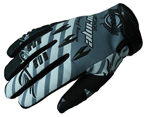 HEYBERRY MX-Cross Quad Motocross Handschuhe schwarz weiß grau Gr. XL