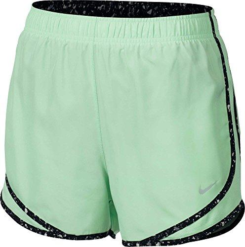 Nike Tempo W nK Dry Pantalon court, femme menta (fresh mint / black / wolf grey / wolf grey)