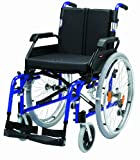 "Drive DeVilbiss Healthcare Enigma XS Aluminium Self-Propelled Wheelchair with 18"" Seat Width in Blue"