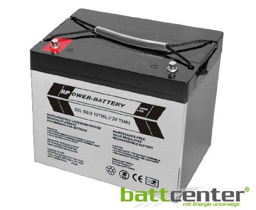 12V 70Ah RPower® Longlife GEL-Batterie