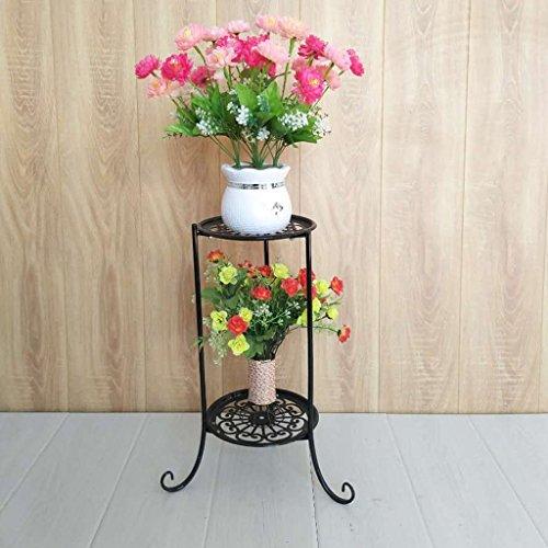 95fa135b5c96 Fu Man Li Trading Company Iron simple mode bonsaïe petit cadre fleur rayon  vert suspendu bleu