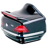 Top Case motos Custom Craftride Illinois 25l Honda Rebel CMX 500, Shadow 750 Black Spirit, VT 1100 C2/ C3 Aero, VT 125/ 600/ 750 C/ 750 Spirit, VTX 1300/ 1800